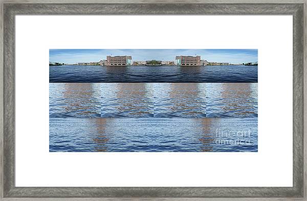 Joiner Sea Framed Print