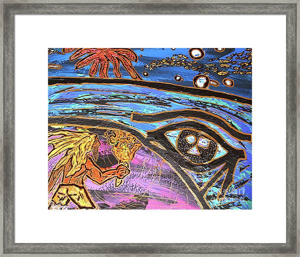 Jonah One Of Those Days Framed Print
