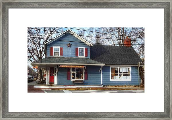 Jones Hardware, A Pequannock Legend Framed Print