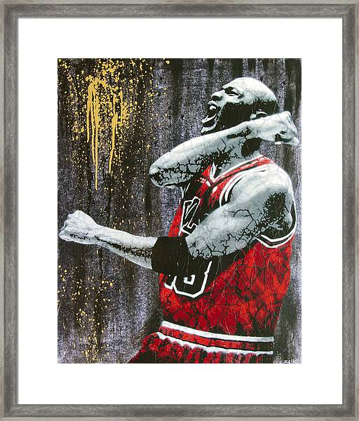 Jordan - The Best There Ever Was Framed Print