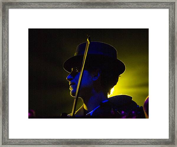 Josh Frankie Frank Framed Print