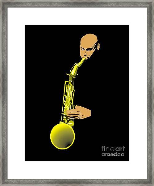 Joshua Redman Framed Print