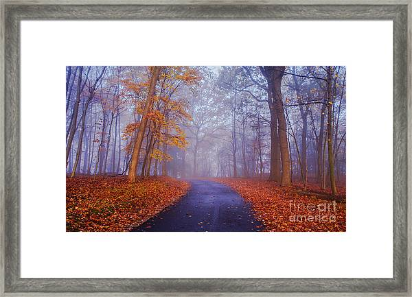 Journey Continues Framed Print