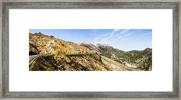 Journey Into The Wild West Framed Print