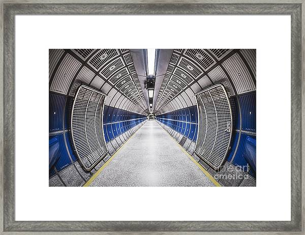 Journey To The Center Of Your Mind Framed Print