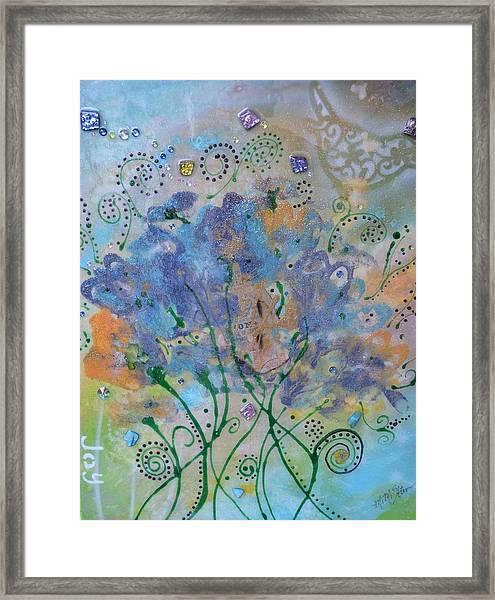Joy By Mimi Stirn Framed Print