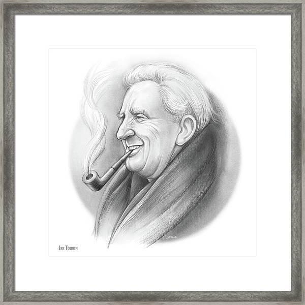 Jrr Tolkien Framed Print