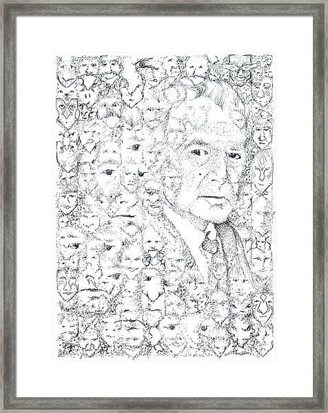 Juan Rulfo Sombra De Arreguin Framed Print
