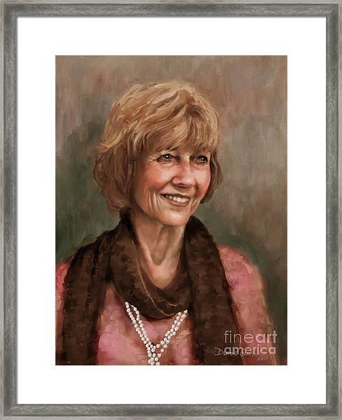 Mrs. Weaver Framed Print