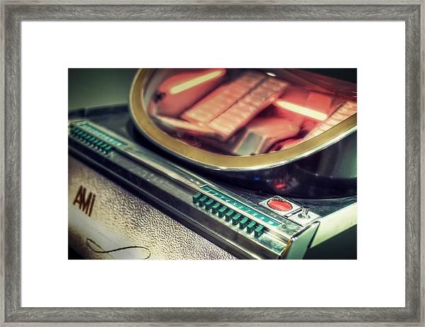 Jukebox Framed Print