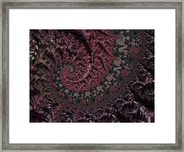 Julia's Heart Framed Print