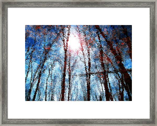 Jumbled Waters Framed Print