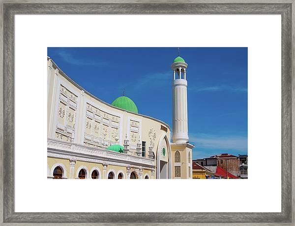 Jumma Mosque Wide Framed Print