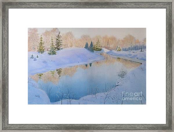 Junction Creek Framed Print