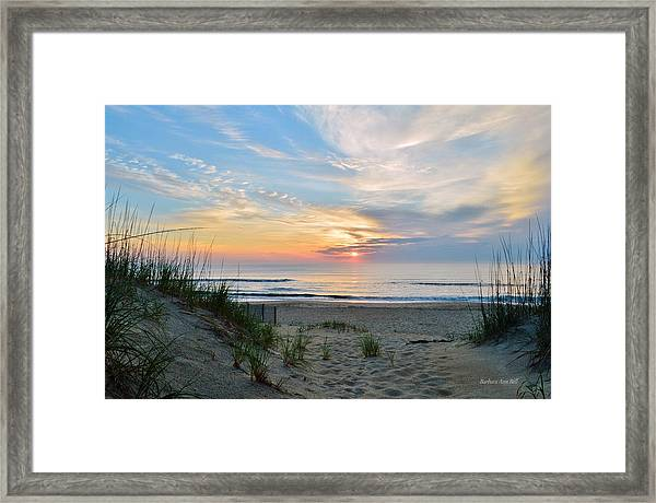 June 2, 2017 Sunrise Framed Print