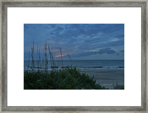 June 20, 2017  Framed Print