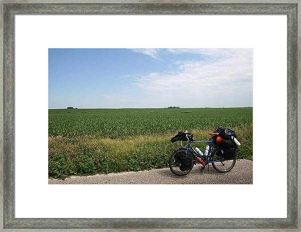 Framed Print featuring the photograph June Field Tourer by Dylan Punke