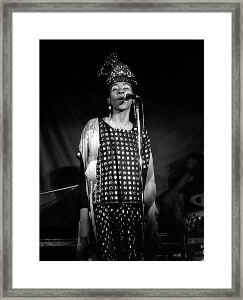 June Tyson Framed Print