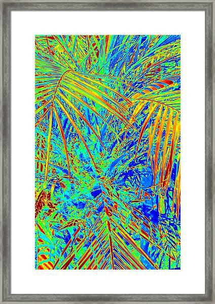 Jungle Vibe Framed Print