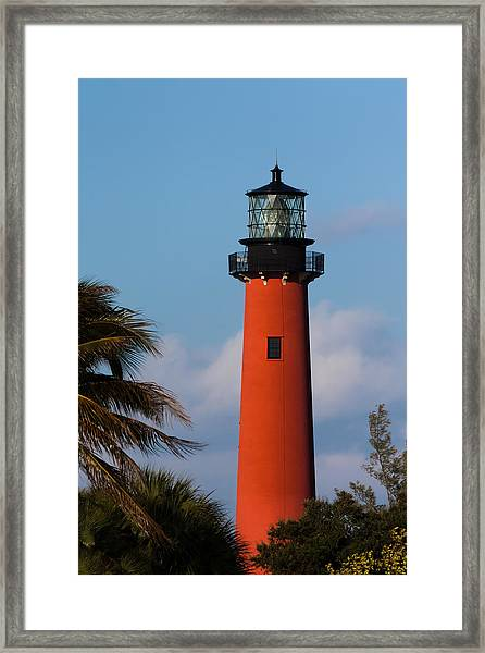 Jupiter Inlet Lighthouse Framed Print