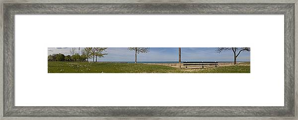 Just A Summer Day At The Park Framed Print