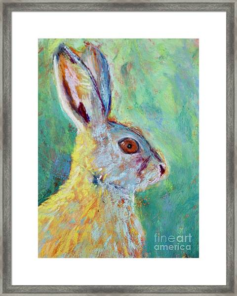 Just Ahare Framed Print