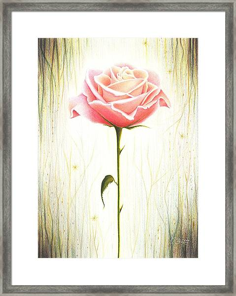 Just Another Common Beauty Framed Print