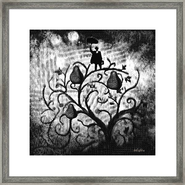 Just Another Day At Work Framed Print