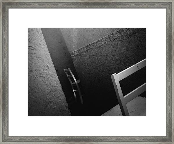 Passage / The Chair Project Framed Print