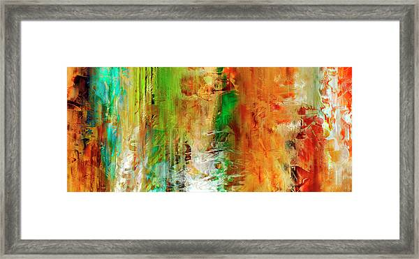Just Being - Abstract Art Framed Print