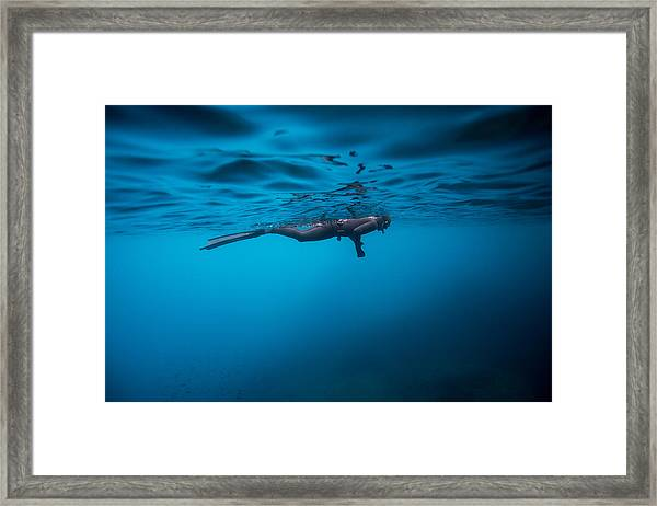Breathe 2 Framed Print