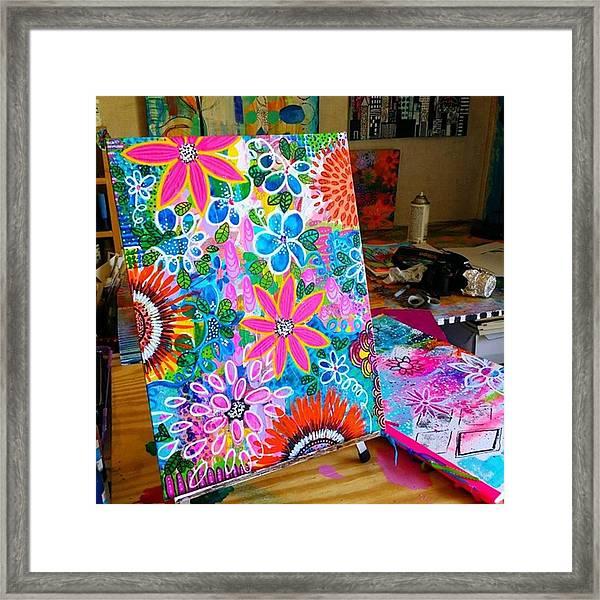 Just Finished..jungle Love...12 X Framed Print