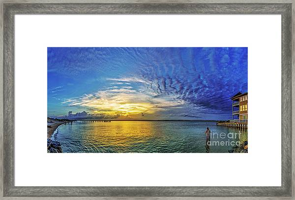 Framed Print featuring the photograph Just Fishin by DJA Images