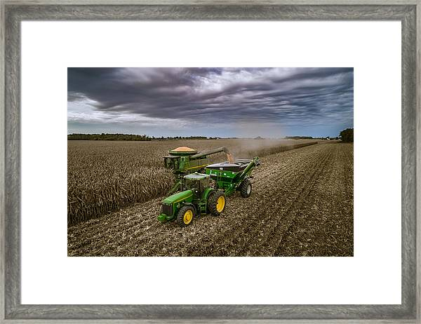 Just In Time Framed Print