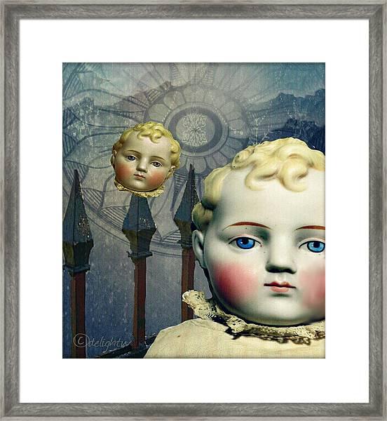 Just Like A Doll Framed Print