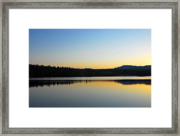 Just Off The Road Framed Print
