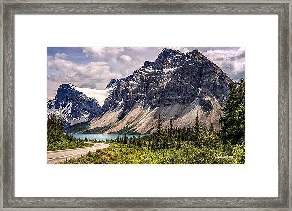 Just One More Beautiful View Framed Print
