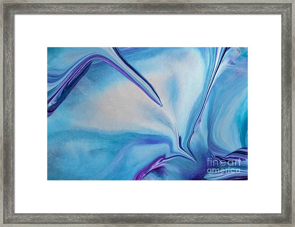 Just Push Play Framed Print