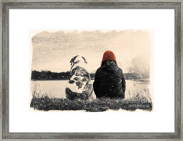 Just Sitting In The Morning Sun Framed Print