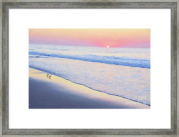 Just The Two Of Us - Jersey Shore Series Framed Print
