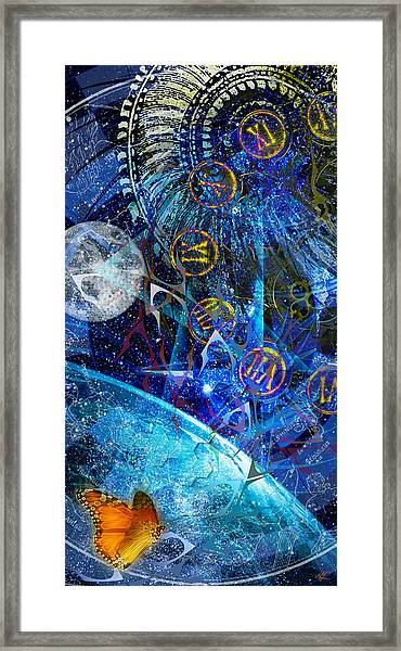 Justbecausality Framed Print