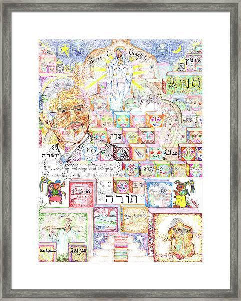 Justice For All Steven C. Gonzalez Framed Print