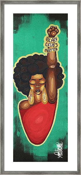 Justice Wanted Framed Print