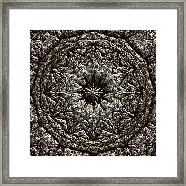 Framed Print featuring the digital art Jyoti Ahau 213 by Robert Thalmeier