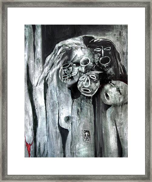 Ka - When The Root Women Speak Framed Print