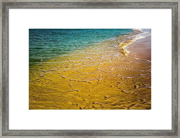 Kaanapali Beach Framed Print