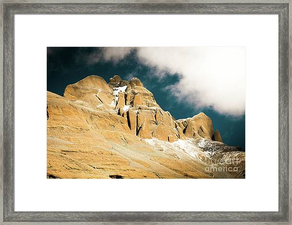 Kailas Kora Himalayas Mountain Tibet Yantra.lv Framed Print