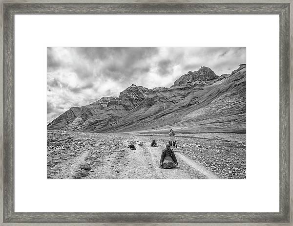 Kailash Kora 2 Framed Print