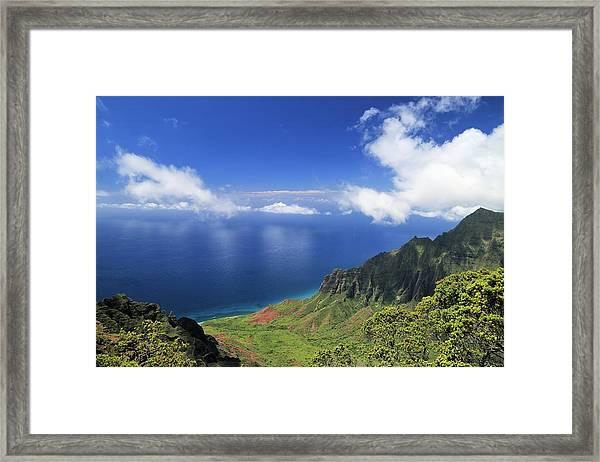 Kalalau Valley Framed Print