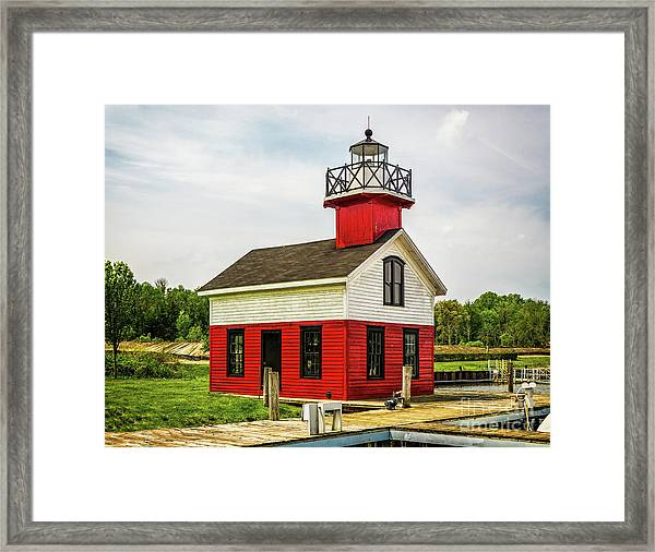 Kalamazoo Lighthouse Framed Print